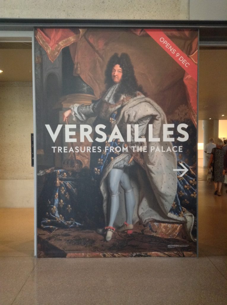 The one where Versailles comes to Australia